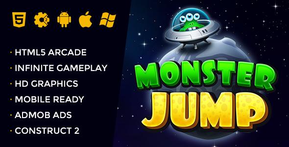 Monster Jump - Endless Jumping Arcade