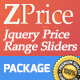 ZPrice - Jquery Price Range Sliders