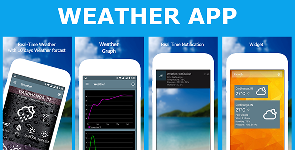 Climate App with admob (Complete Applications)
