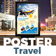 Holiday Tour & Travel Poster Template
