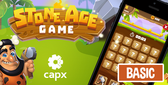Stone Age HTML5 Game [ BASIC ] + Capx (Games)