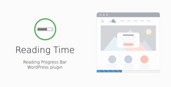 Reading Time — Reading Progress Bar for WordPress - CodeCanyon Item for Sale