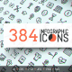 384 Infographic Icons Pack