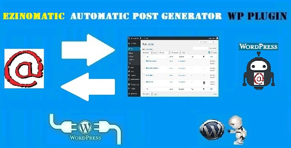 Ezinomatic Automatic Post Generator and EzineArticles Auto Poster Plugin for WordPress
