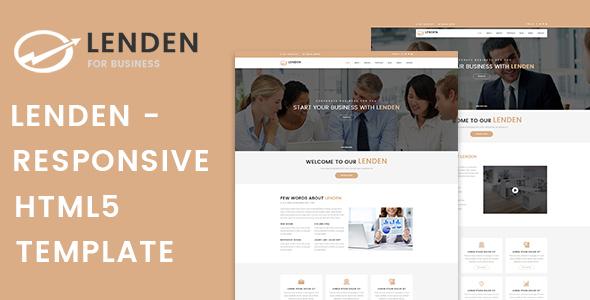Lenden | Business & Corporate HTML5 Template