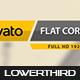 Flat Corporate Lowerthird 2
