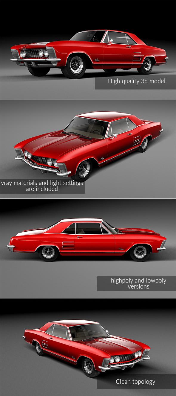 3DOcean Buick Riviera 1963 19957162