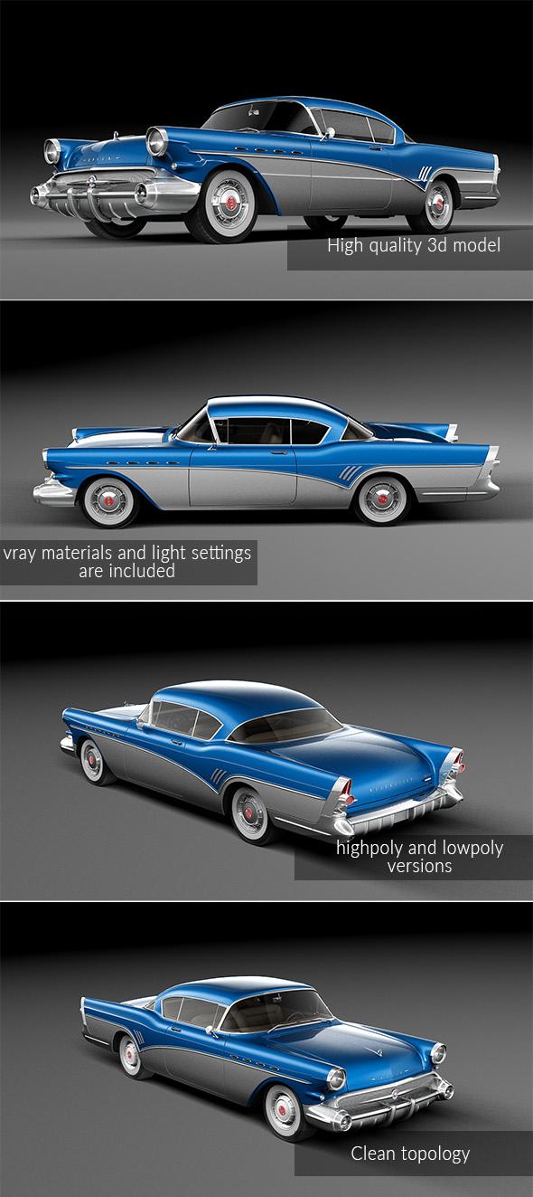 3DOcean Buick Roadmaster 1957 19957168