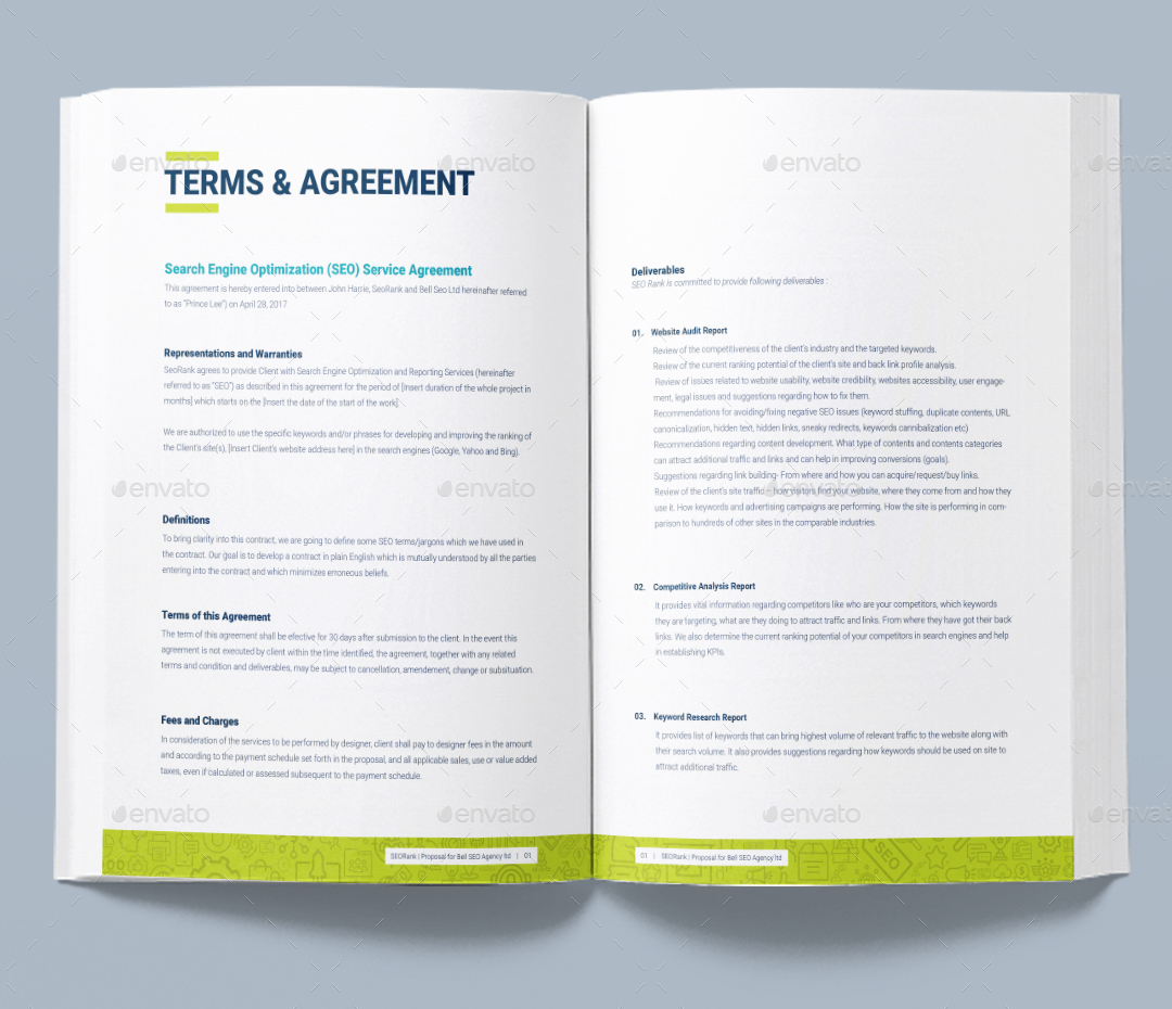 Doc585650 Seo Contract Template 5 SEO Contract Templates Free 12 Terms And  Agreements Seo Contract Template