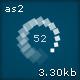Square Spinning Preloader 02 - ActiveDen Item for Sale