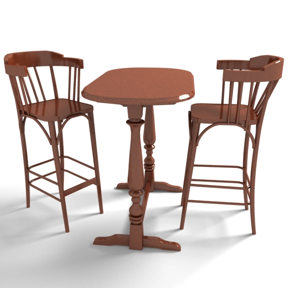 Furniture Bar Table Set