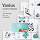 Yanius - Creative Google Slide Template