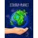 Cartoon Eco Planet Poster