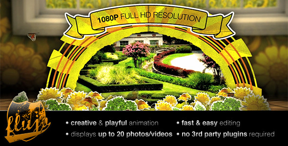 After Effects Project - VideoHive Summer Flipbook 300770