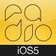 Radio App for iPhone iOS5