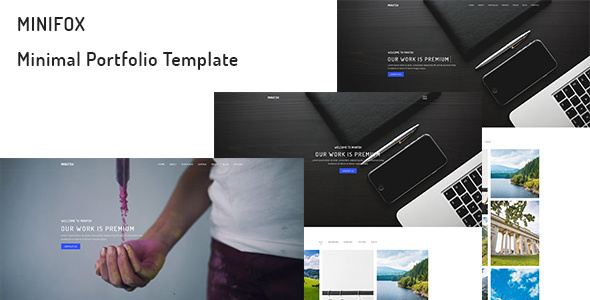 Download MiniFox – Minimal Portfolio Template