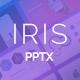 IRIS Minimal PowerPoint Presentation
