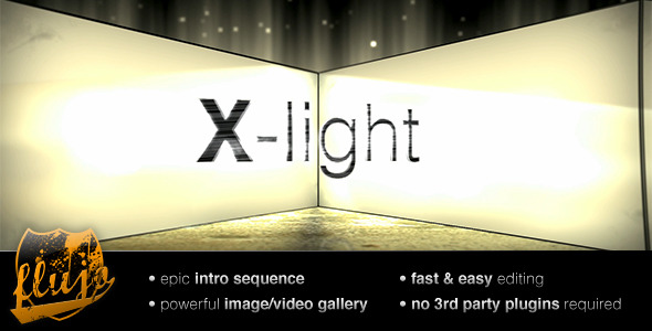 After Effects Project - VideoHive X-light 152514