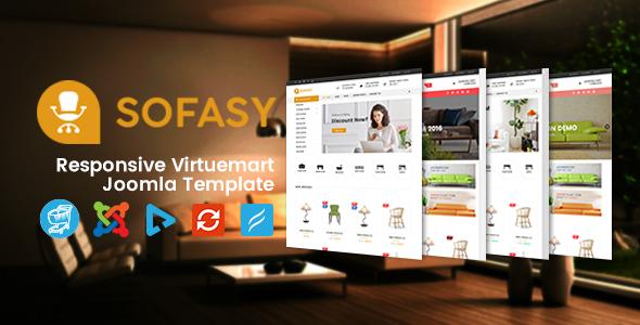 Image of Vina Sofasy - Responsive VirtueMart Joomla Template
