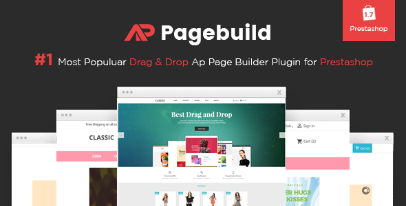 Ap Page Builder Prestashop Module