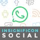 Insignificon Social - 38 Social Media Icons