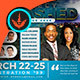 Prophecy Unleashed Conference Flyer Template