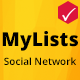 MyLists - Your Social Network to share Video Lists