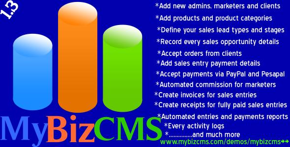 MyBizCMS - CodeCanyon Item for Sale