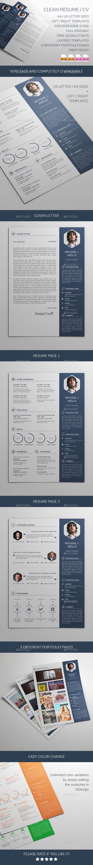 Clean Resume / CV / Portfolio