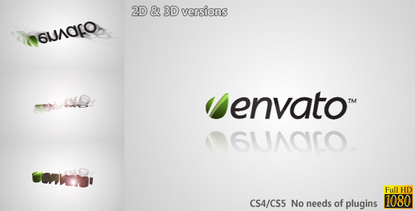 VideoHive Simple Rotating Logo Reveal 1952832