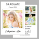 Graduation Invitation Template V06