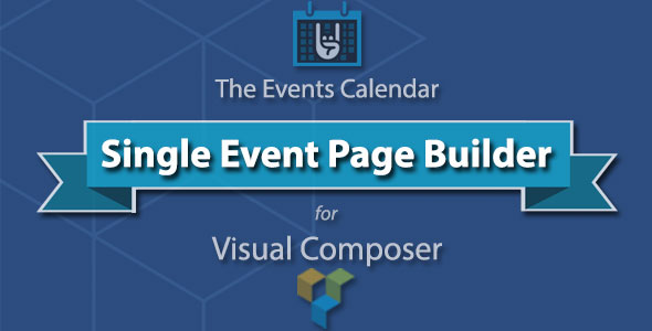 banner The Events Calendar Single Event Page Builder (Add-ons)