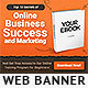 Awesome Ebook Banner Ad Template
