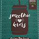 Smoothie Love Flyer Template
