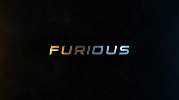 Furious | 50 Titles Presets