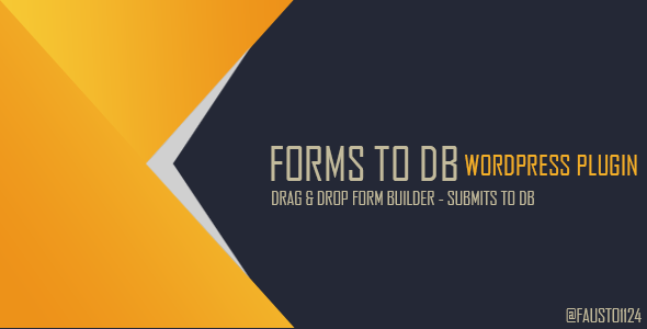 590x300 Forms To DB - Wordpress Plugin to Save Forms in DB and xls (Utilities)
