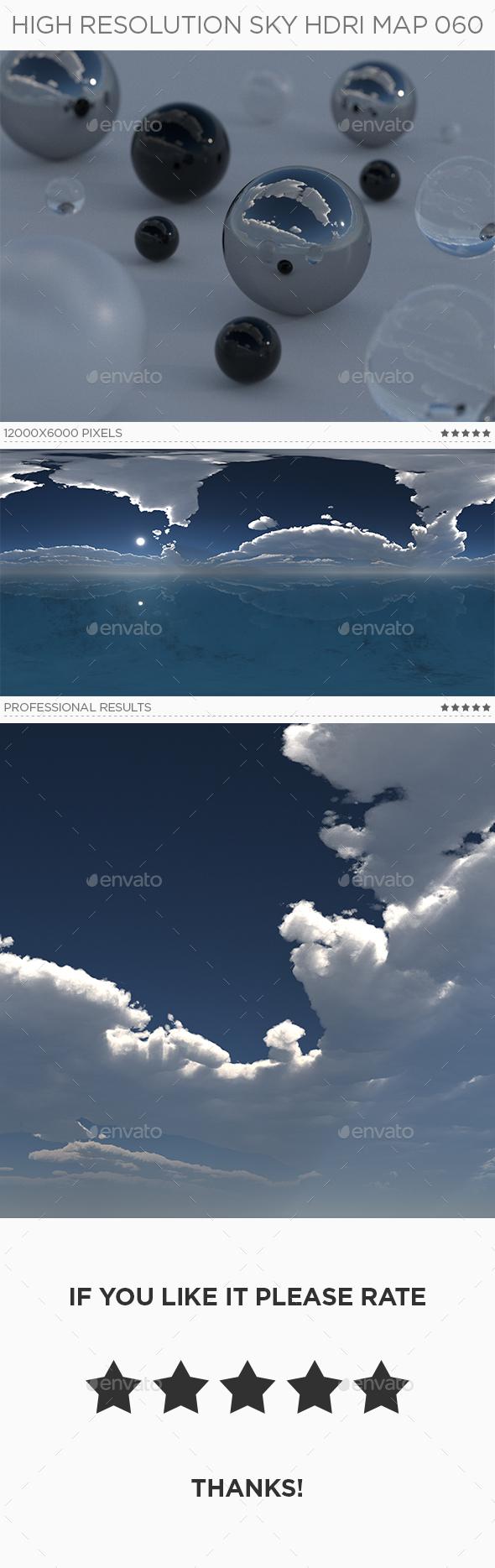 High Resolution Sky HDRi Map 060