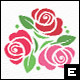Rose Garden Logo Template