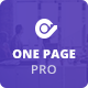 One Page Pro - Multi Purpose OnePage WordPress Theme