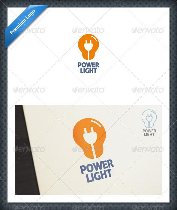Power Light Logo template