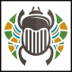 Egyptian Beetle Logo