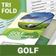 Golf Trifold Brochure 6