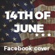 Promote 14th of June Flag Day - Banners