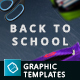 Back To School - 10 Hero Image Templates