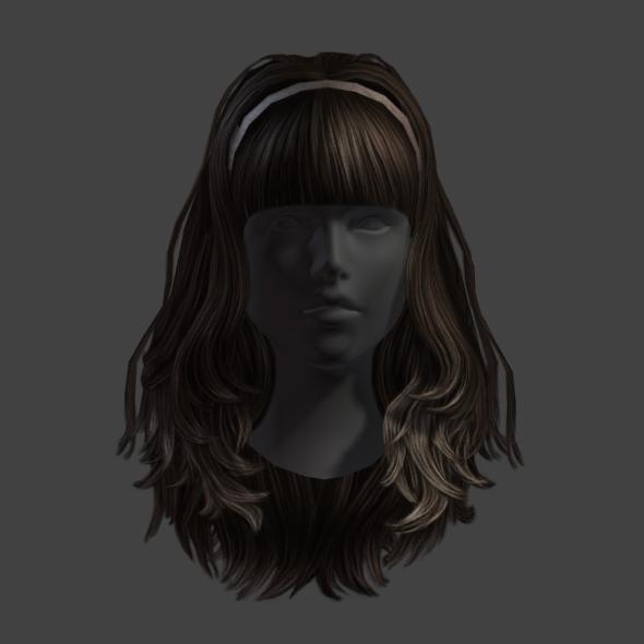 Hair 13 - 3DOcean Item for Sale
