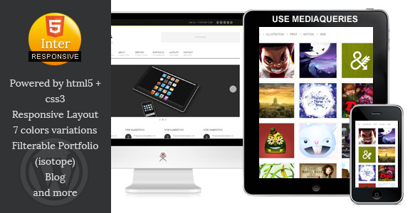 Inter-Communicate - Responsive HTML5 Blog Template -