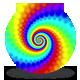 Spectrum Spiral Loop - Dragon Skin Rainbow