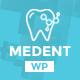 Medent - dental clinic WordPress theme