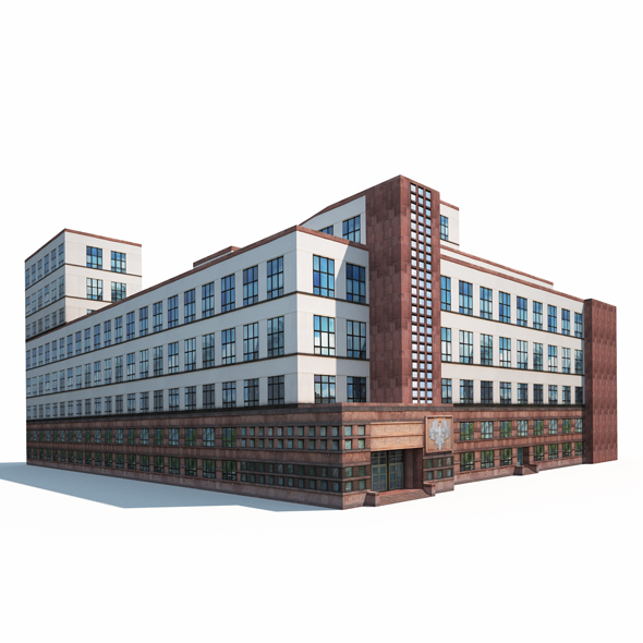 Office Building 170 - 3DOcean Item for Sale