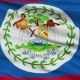 Waving National Flag of Belize